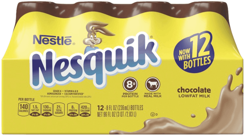 $1.50 for NESTLÉ® NESQUIK® Ready To Drink Flavored Milk (expiring on Saturday, 05/02/2020). Offer available at Walmart.