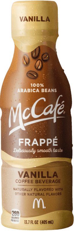 $1.25 for McCafe® Frappé (expiring on Sunday, 09/01/2019). Offer available at Walmart.
