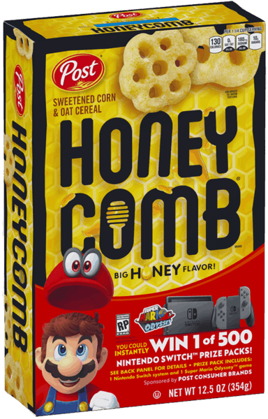 $0.30 for Honey-Comb® (expiring on Saturday, 06/02/2018). Offer available at multiple stores.