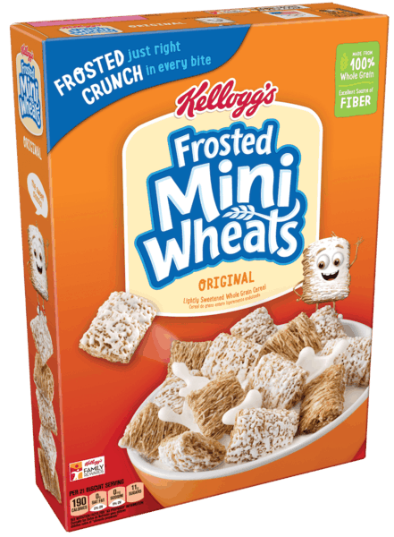 $0.75 for Kellogg's® Frosted Mini-Wheats® (expiring on Thursday, 08/02/2018). Offer available at Walmart.
