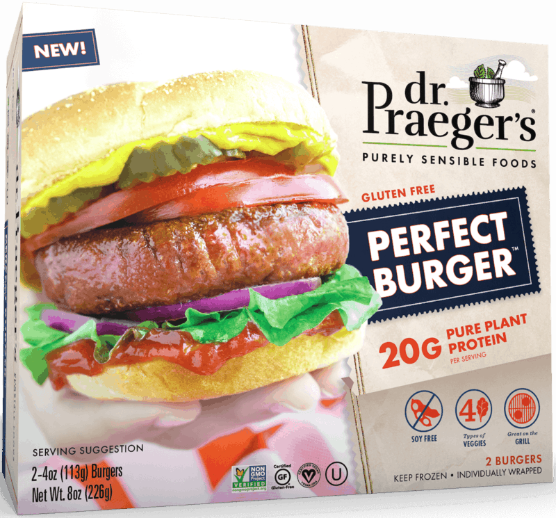 $1.00 for Dr. Praeger's® Perfect Burger™ (expiring on Saturday, 12/28/2019). Offer available at multiple stores.