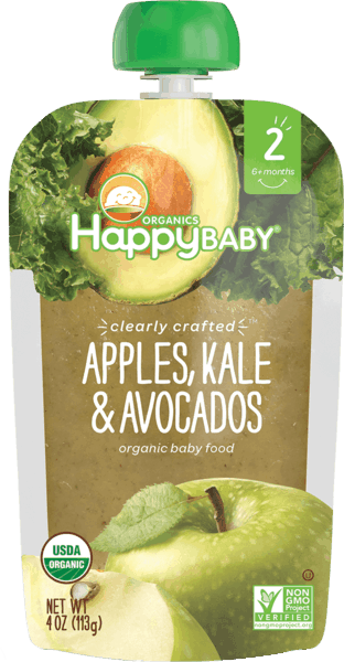 $1.00 for Happy Baby® Clearly Crafted™ Pouches (expiring on Monday, 11/05/2018). Offer available at Walmart.