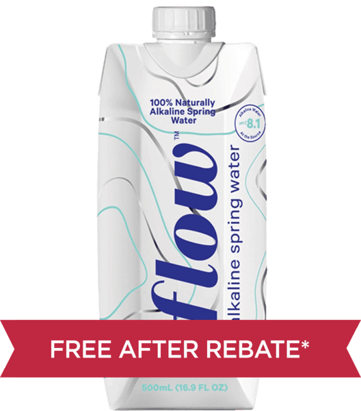 $1.50 for Flow Alkaline Spring Water (expiring on Saturday, 02/02/2019). Offer available at Whole Foods Market®.