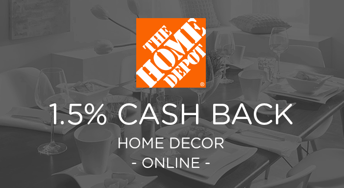 $0.00 for Home Depot Home Decor & Furniture (expiring on Sunday, 03/01/2020). Offer available at HomeDepot.com.