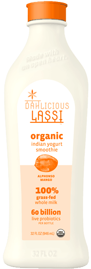 $1.00 for Dahlicious Lassi™ Organic Indian Yogurt Smoothie (expiring on Tuesday, 04/04/2017). Offer available at Whole Foods Market®, Sprouts Farmers Market.