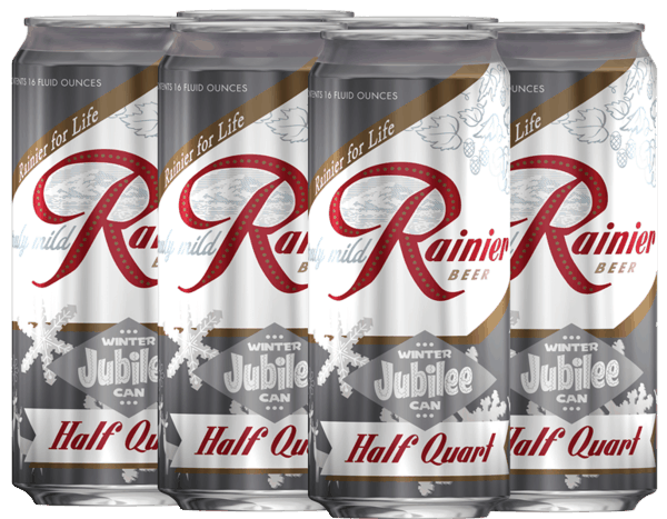 $1.00 for Rainier® Jubilee. Offer available at multiple stores.