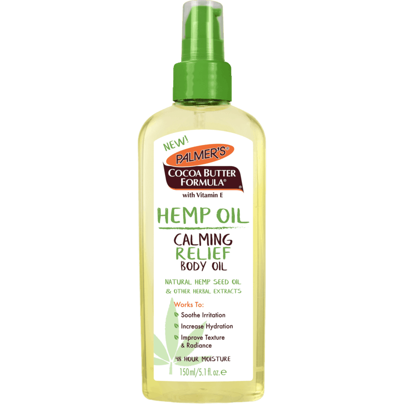 $1.00 for Palmer's Hemp Oil Products (expiring on Monday, 05/31/2021). Offer available at Walmart, Walmart Pickup & Delivery.