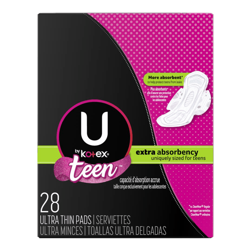$2.00 for U by Kotex Products (expiring on Sunday, 11/22/2020). Offer available at Walmart, Walmart Grocery.