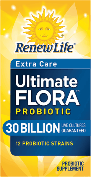 $3.00 for Renew Life® Ultimate Flora™ Probiotic. Offer available at Target, Walmart.