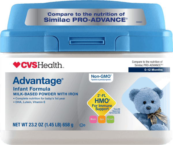 $6.00 for CVS Health™ Advantage® Infant Formula (expiring on Tuesday, 07/02/2019). Offer available at CVS Pharmacy.