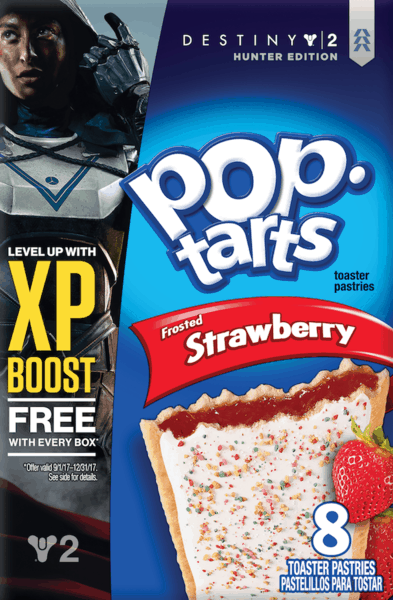$0.50 for Pop-tarts® (expiring on Saturday, 06/02/2018). Offer available at Walmart.