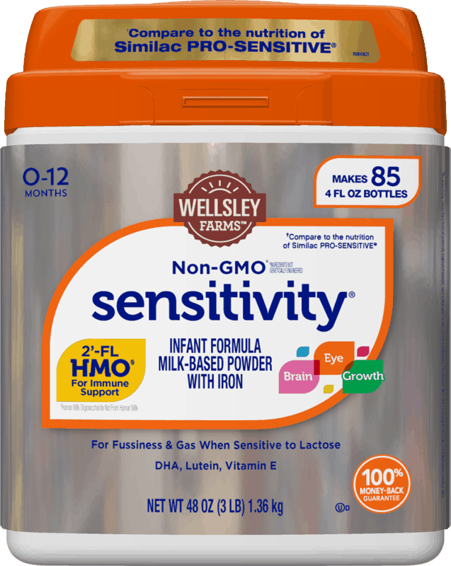 $4.00 for Wellsley Farms™ Sensitivity® Formula. Offer available at BJ's.