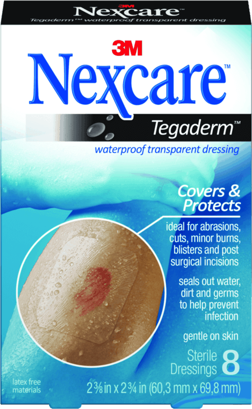 $1.00 for Nexcare™ Tegaderm™ Transparent Dressing. Offer available at Target, Walmart.