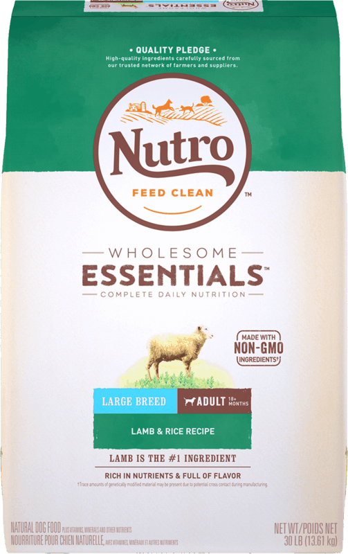 $4.00 for NUTRO™ WHOLESOME ESSENTIALS™ Dry Dog Food (expiring on Monday, 05/31/2021). Offer available at Kroger.