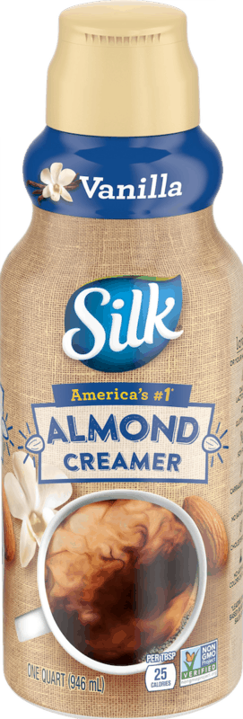 $1.00 for Silk Almond Creamers (expiring on Sunday, 08/02/2020). Offer available at multiple stores.