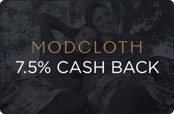 $0.00 for Modcloth (expiring on Sunday, 04/22/2018). Offer available at ModCloth.