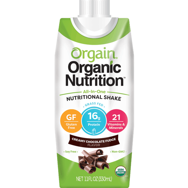 $1.00 for Orgain® Organic Nutrition Single Shake (expiring on Monday, 04/01/2019). Offer available at multiple stores.