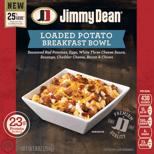 $0.75 for Jimmy Dean® Breakfast Bowl (expiring on Wednesday, 01/31/2018). Offer available at Walmart.