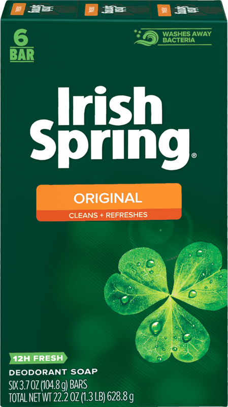 $1.50 for Irish Spring Bar Soap (expiring on Thursday, 05/13/2021). Offer available at Target, Target Online.