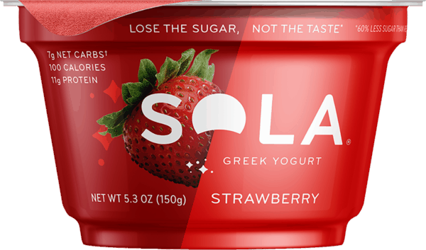 $0.50 for Sola® Greek Yogurt (expiring on Thursday, 02/28/2019). Offer available at Harris Teeter, Hy-Vee, Jewel-Osco.