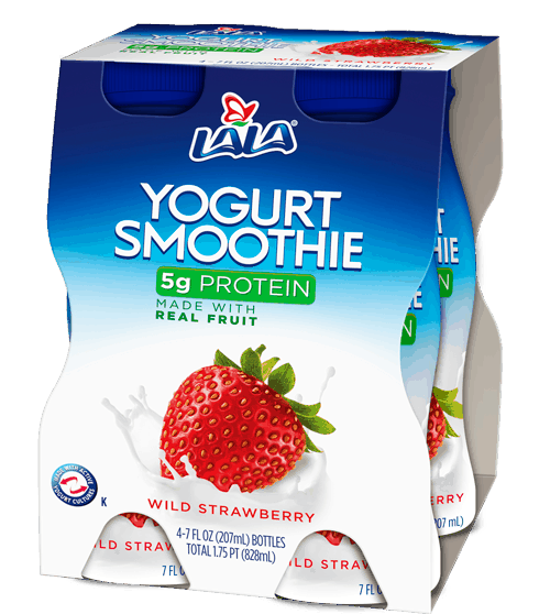 $0.75 for LALA® Yogurt Smoothie (expiring on Monday, 03/06/2017). Offer available at multiple stores.