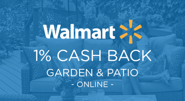 $0.00 for Walmart.com Garden & Patio (expiring on Saturday, 08/31/2019). Offer available at Walmart.com.