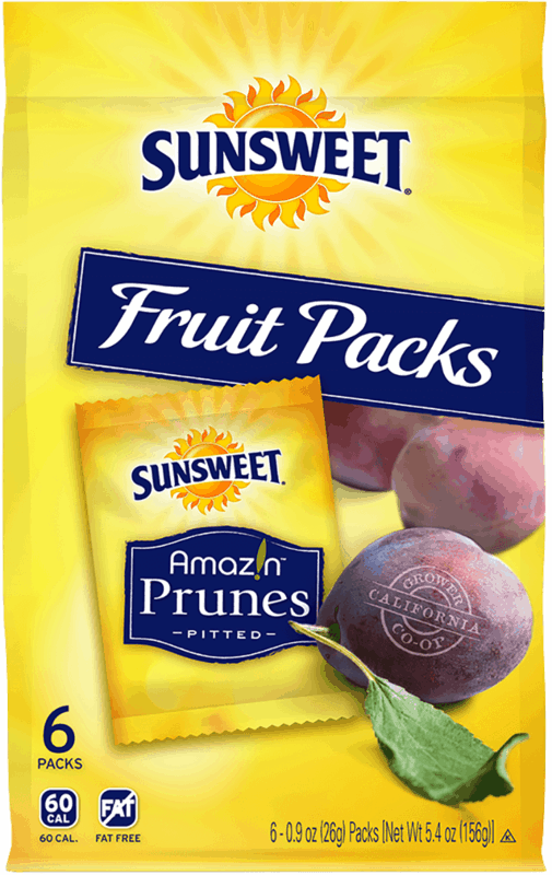 $1.00 for Sunsweet Fruit Packs (expiring on Sunday, 08/02/2020). Offer available at multiple stores.