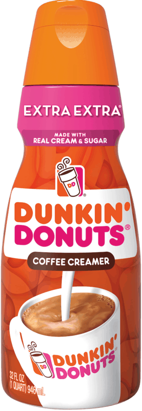 $0.50 for Dunkin' Donuts Coffee Creamer (expiring on Sunday, 08/02/2020). Offer available at multiple stores.