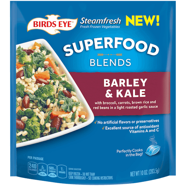 $1.00 for BIRDS EYE® Steamfresh® Superfood Blends (expiring on Thursday, 08/02/2018). Offer available at Walmart.