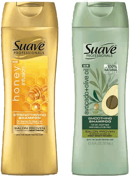 $2.00 for Suave Professionals® Shampoo or Conditioner (expiring on Saturday, 07/01/2017). Offer available at Walmart.