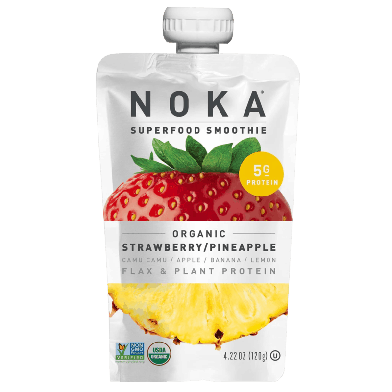 $0.50 for NOKA Organic Smoothie (expiring on Friday, 05/01/2020). Offer available at Safeway, Walmart.