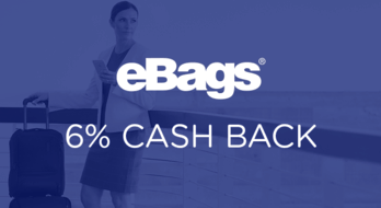 $0.00 for eBags (expiring on Monday, 04/13/2020). Offer available at eBags.