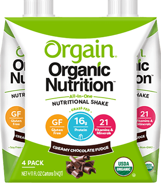 $2.00 for Orgain® Organic Nutrition Shake. Offer available at multiple stores.