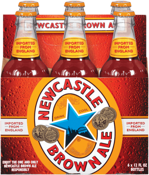 $1.00 for NEWCASTLE BROWN ALE®. Offer available at multiple stores.
