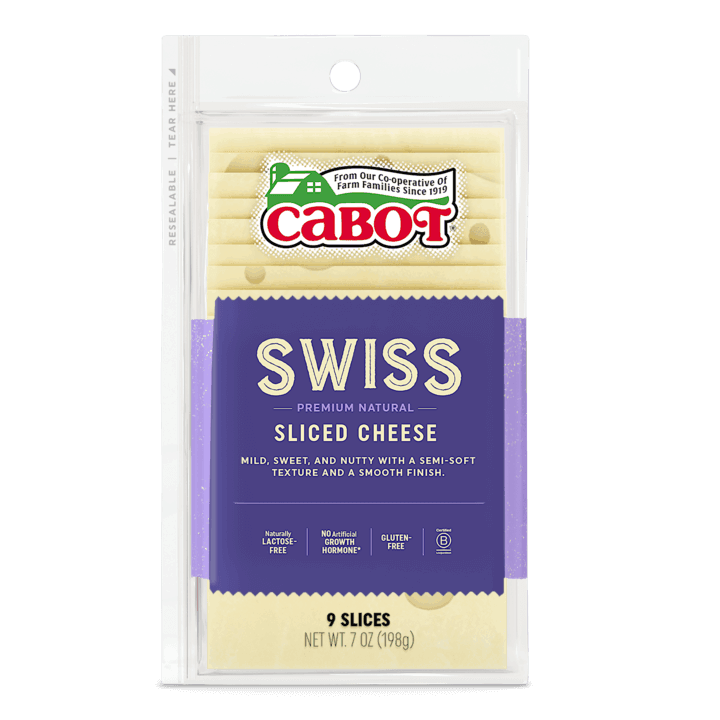 $0.75 for Cabot Shingled Sliced Swiss Cheese (expiring on Thursday, 07/02/2020). Offer available at Schnucks.