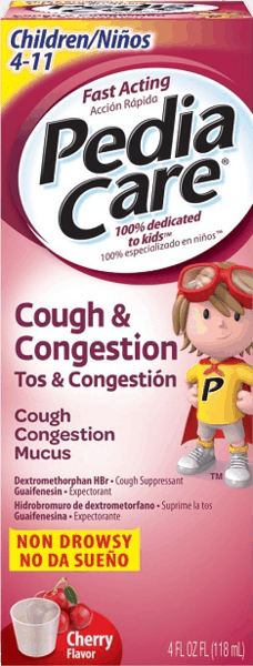 $1.50 for PediaCare™ Cough & Congestion (expiring on Sunday, 09/02/2018). Offer available at Walgreens.