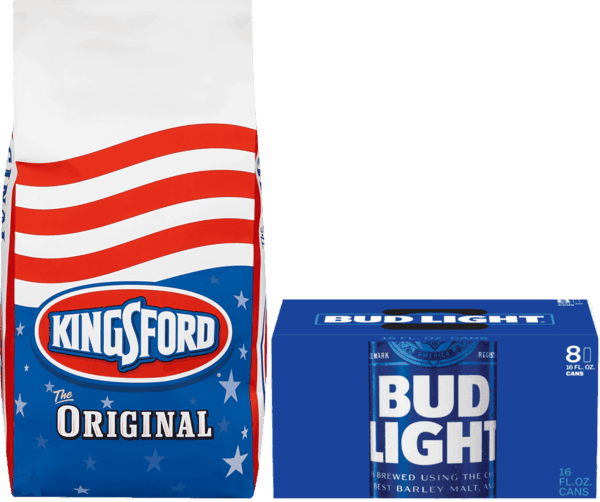 $1.00 for Kingsford® Charcoal (expiring on Wednesday, 08/22/2018). Offer available at multiple stores.