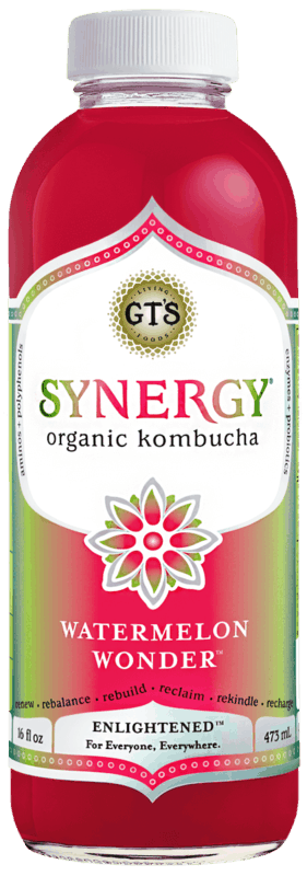 $1.00 for GT's Enlightened Kombucha. Offer available at Walmart.
