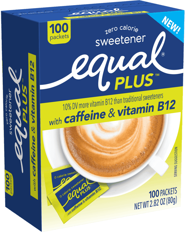 $1.00 for Equal® PLUS Sweetener. Offer available at Walmart.