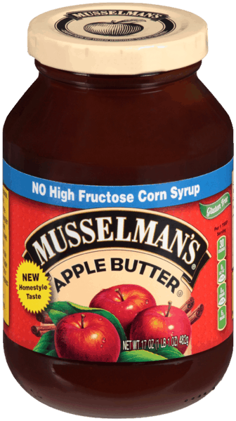 $0.50 for Musselman's Apple Butter (expiring on Sunday, 06/02/2019). Offer available at multiple stores.