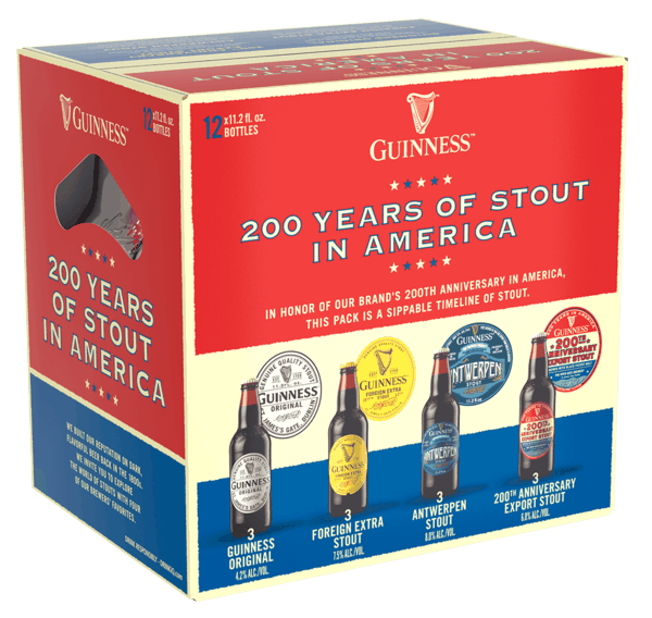 $2.00 for Guinness 200th Anniversary Mix 12 Pack. Offer available at multiple stores.
