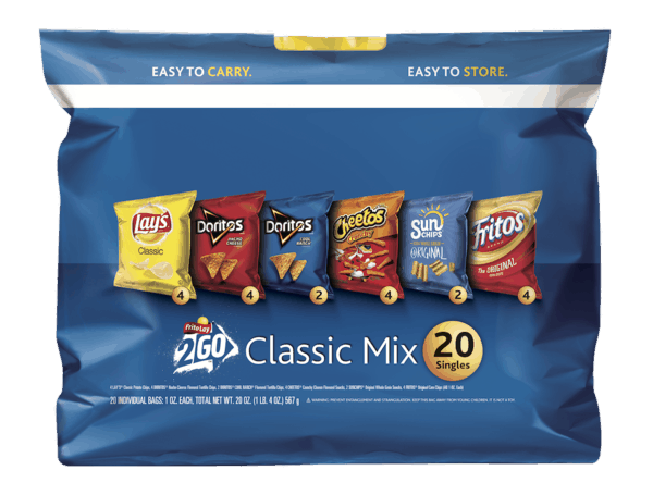 $0.50 for Frito-Lay® Classic Mix Variety Pack (expiring on Tuesday, 07/31/2018). Offer available at multiple stores.