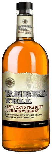 $5.00 for Rebel Yell Kentucky Straight Bourbon Whiskey. Offer available at multiple stores.