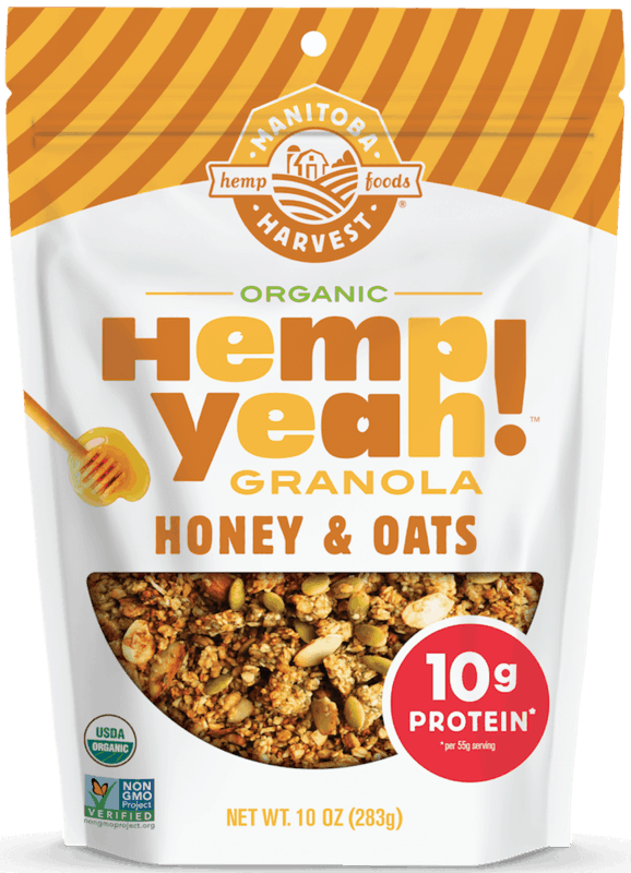 $1.50 for Manitoba Harvest® Hemp Yeah!™ Organic Granola (expiring on Sunday, 08/02/2020). Offer available at multiple stores.