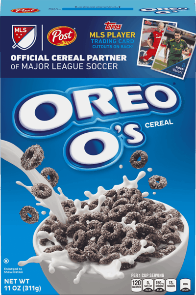 $0.35 for OREO O's™ Cereal (expiring on Wednesday, 01/02/2019). Offer available at multiple stores.