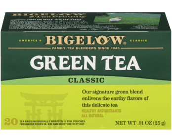 $0.25 for Bigelow Tea (expiring on Tuesday, 08/10/2021). Offer available at Walmart, Walmart Pickup & Delivery.