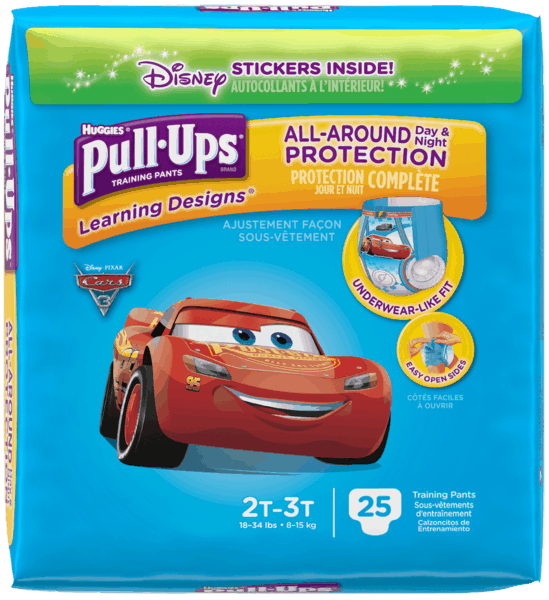 $2.00 for Huggies® Pull-Ups® Training Pants Jumbo. Offer available at multiple stores.