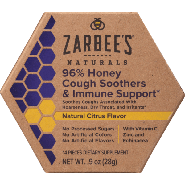 $0.50 for Zarbee's Adult Cough Soothers (expiring on Sunday, 09/06/2020). Offer available at multiple stores.
