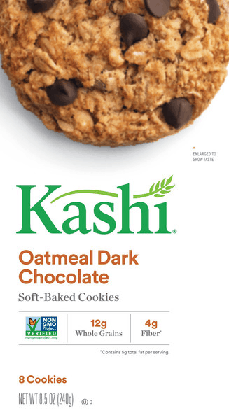 $0.50 for Kashi® Soft-Baked Cookies (expiring on Saturday, 08/11/2018). Offer available at Walmart.