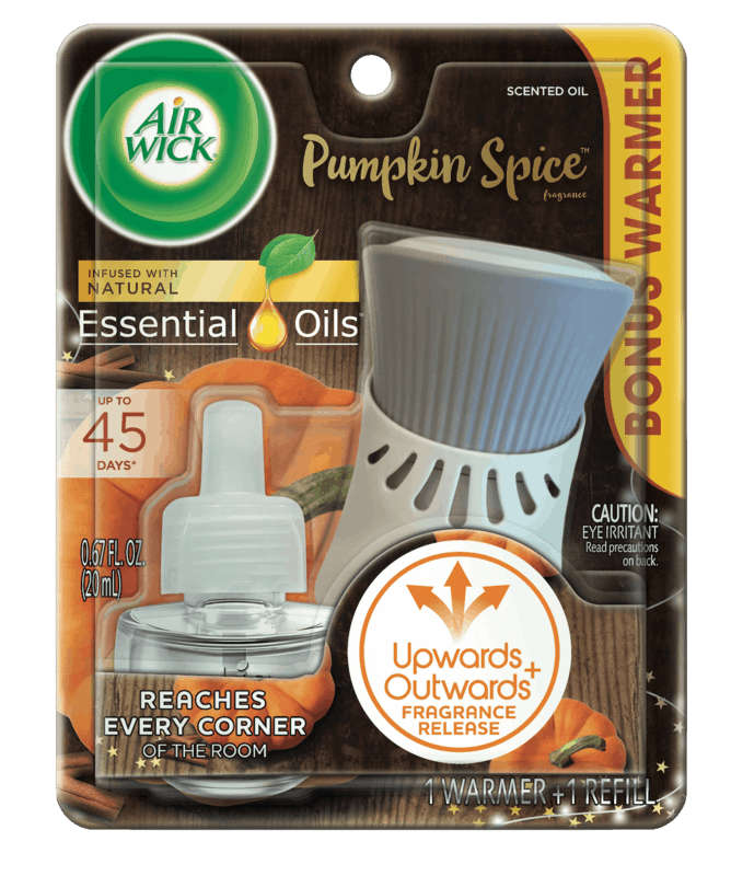 $0.75 for Air Wick Scented Oil Starter Kit (expiring on Friday, 12/13/2019). Offer available at Walmart.